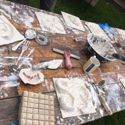 Medieval plaster workshop with GB Plastering