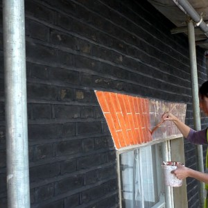 Dyebrick solutions to poor brickwork