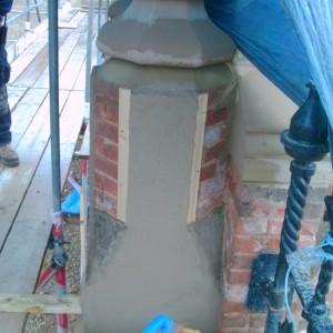 Historic monument repair, Knebworth