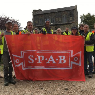 Feltwell working party and historic lime pointing training event